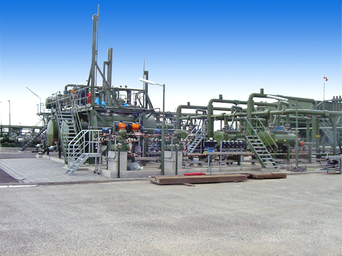 Votech Sand remoal system